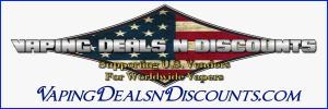 Vaping deals n discounts Banner